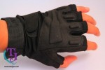 BLACKHAWK GLOVES HALF BLACK